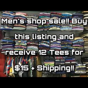 DEAL: 12 Tees for $15!!!